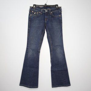 True Religion Joey Twisted Flare Jeans
